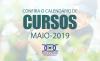 Confira a grade de cursos para o mês de maio de 2019